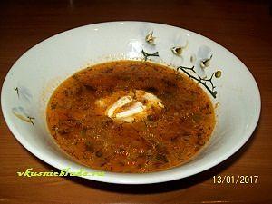 рецепт супа с фаршем