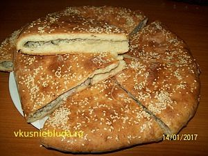 рецепт вкусного пирога с мясом