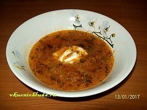 суп с фаршем и имбирём