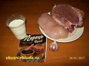 свинина курица специи