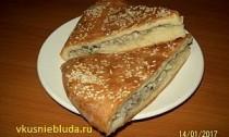 вкусный пирог с мясом