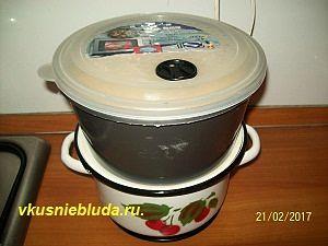 готовим дрожжевое блинное тесто