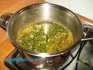 рецепт супа с бобами