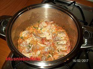 рецепт тигровых креветок в соусе
