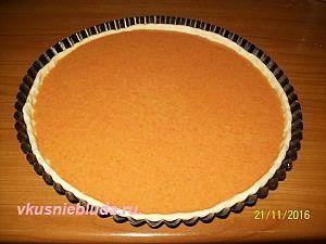 запекаем тыквенный пирог