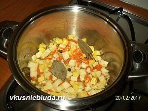 приготовление супа из консервы