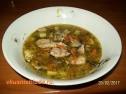Суп из рыбных консервов.