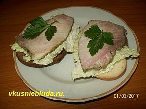 бутерброды с бужениной