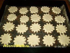 формируем творожное печенье