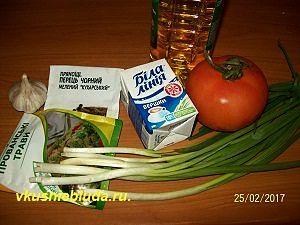 ингредиенты для рыбного соуса