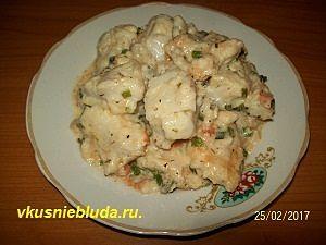 рыбный соус для спагетти