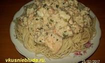 рыбный соус к спагетти
