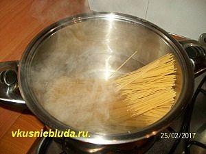 спагетти для соуса