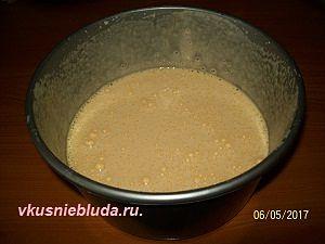 готовим кофейный бисквит