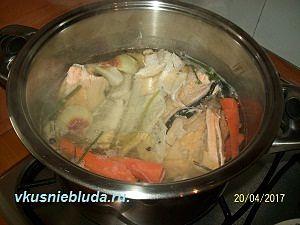 готовим рыбный бульон