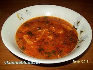 как приготовить суп с рыбой