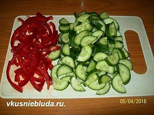 овощи для витаминного салата