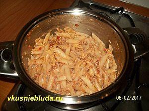 рецепт пасты с фаршем