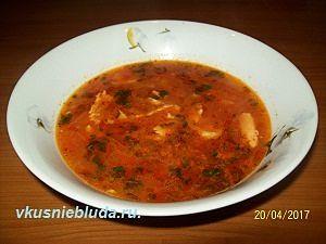 рецепт супа с рыбой