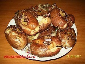 рецепт запеченного картофеля