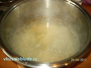 рыбный бульон для супа