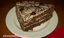 вкусный кофейный торт