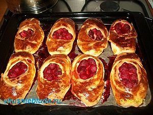 пирожки с клубникой рецепт