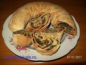 рецепт пирога с ботвой