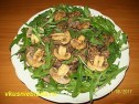 Рецепт салата с рукколой.