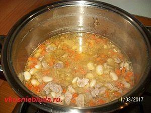 рецепт супа из фасоли