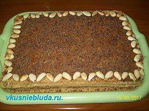 готовим торт арлекин