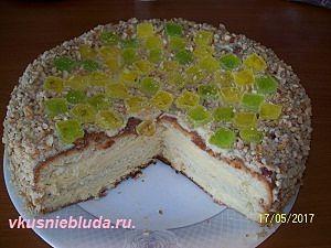 как приготовить торт бисквитный