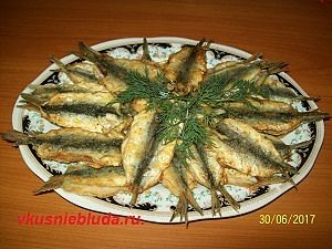 пожарить мелкую рыбу вкусно