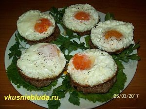 рецепт бифштекса с яйцом
