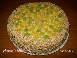рецепт бисквитного тортика