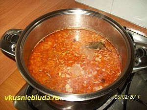 рецепт супа из говядины
