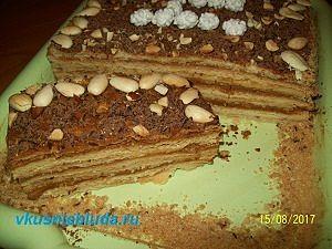 рецепт торта арлекин