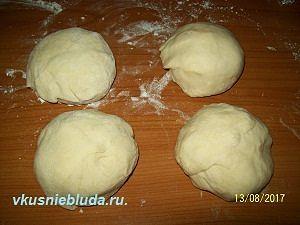 слоеное тесто для арлекино
