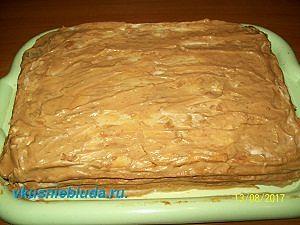 собираем торт арлекин