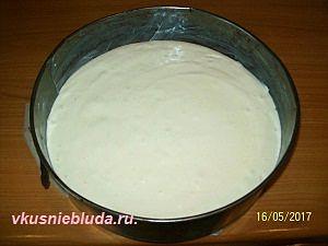 воздушное тесто для бисквита