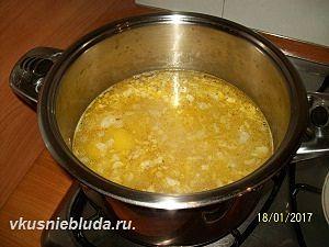 приготовление супа картофельного