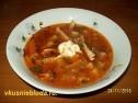 Вкусный чечевичный суп.