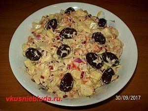 греческий салат с картошкой