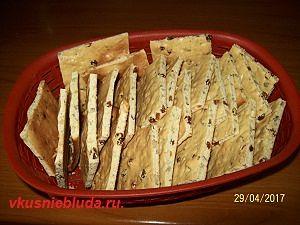 рецепт печенья с изюмом