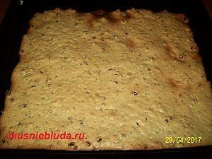 выпекаем печенье с изюмом