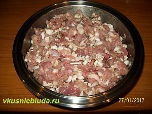 фарш для колбасы из индейки