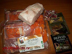 ингредиенты для колбасок из индейки