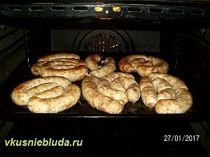колбаса из индейки по-домашнему