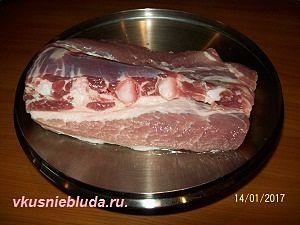 мясо щи