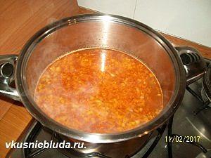 готовим рисовый суп